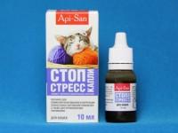 Как давать капли Стоп-стресс кошке?