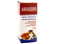 Инструкция по применению Анандина для кошек