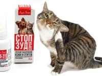 Инструкция по применению Стоп-зуда для кошек