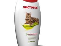 Шампунь чистотел для кошек