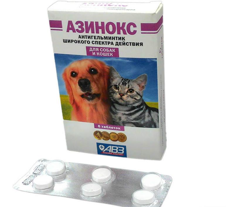 азинокс для котят инструкция по применению